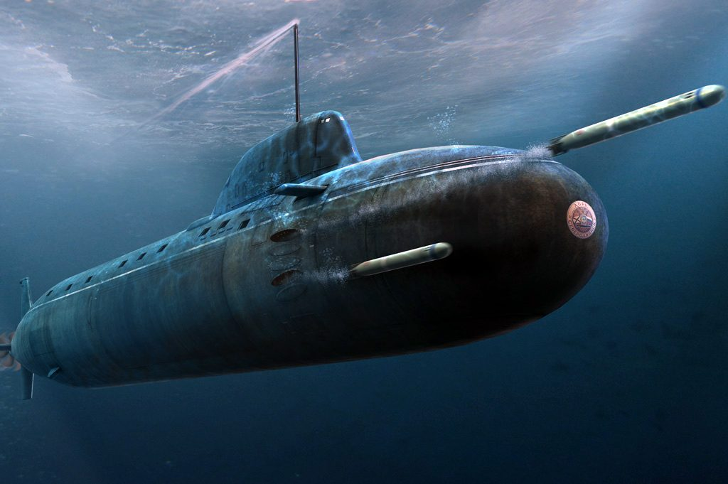 Подводная лодка обои на рабочий стол