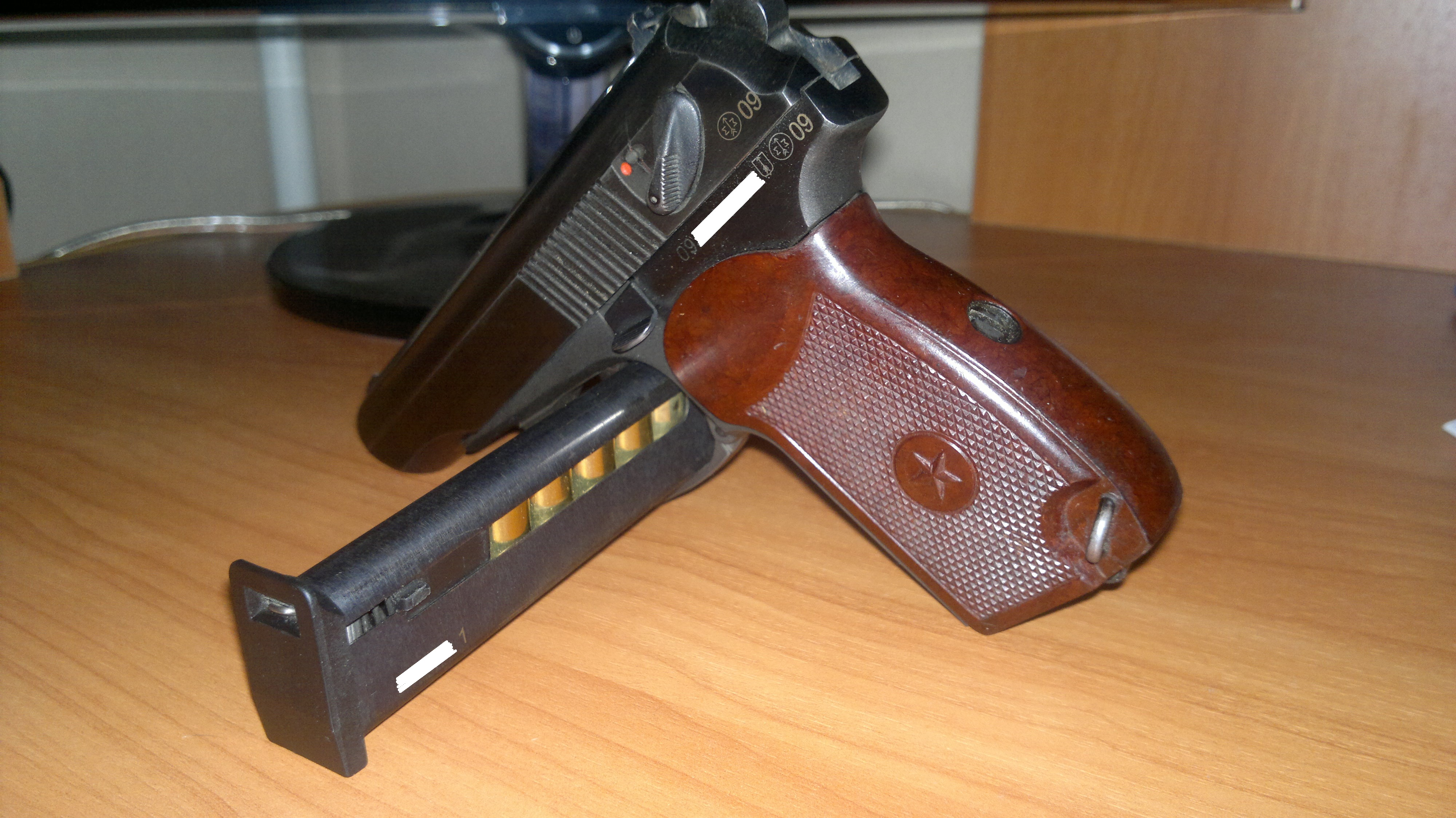 Внешний вид магазина пистолета МР80 13Т