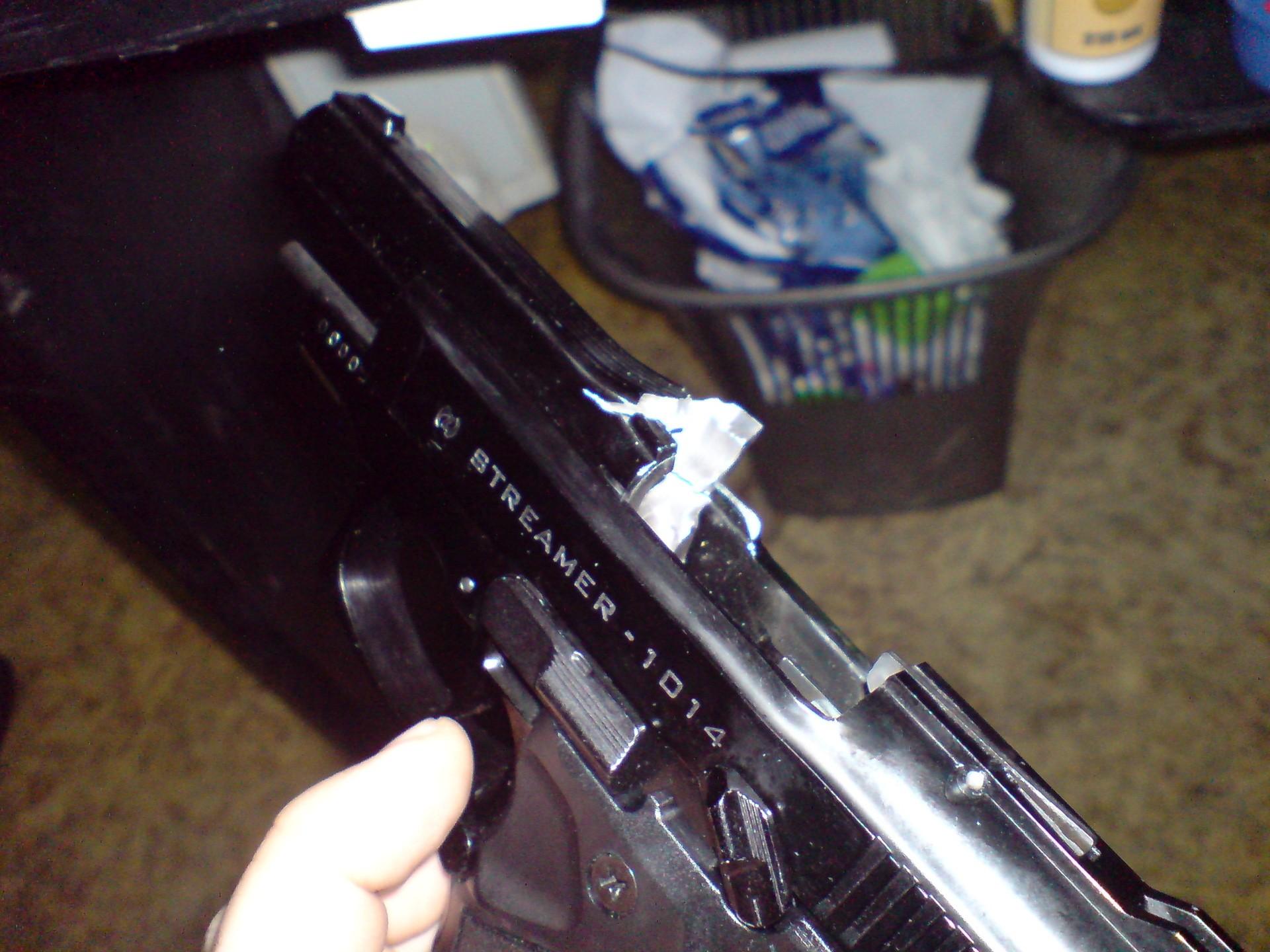 Поломка ствола Streamer 1014