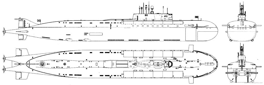 Подводные лодки проекта 949А
