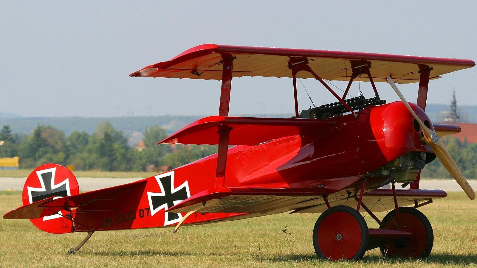Обои сил, триплан, Fokker dr.1, военно-воздушных, истребитель. Авиация foto 18