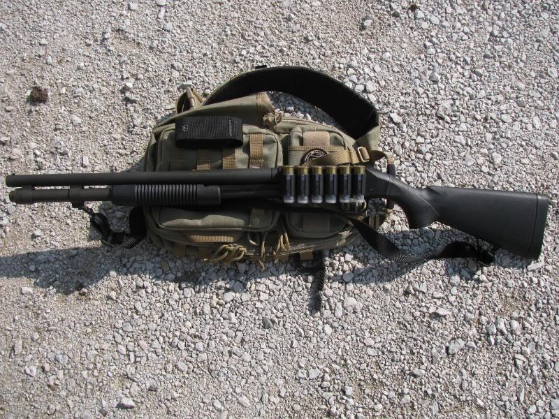 Боевой Mossberg 590