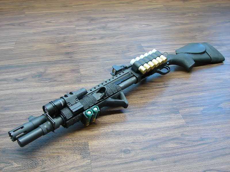 Mossberg 500 Tactical в полной комплектации