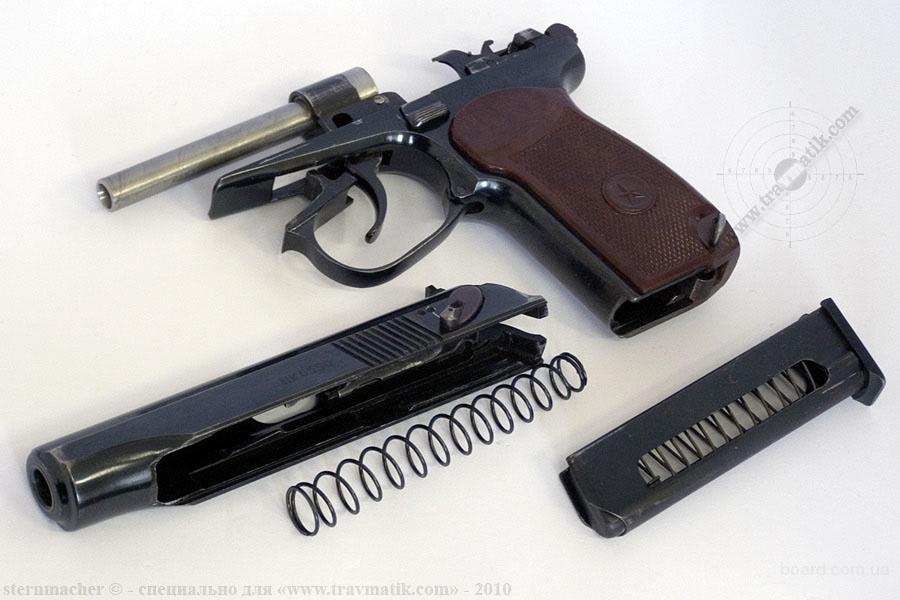 Пистолет Вий с разобранным стволом width=