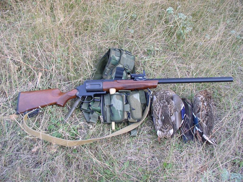 MЦ-255 на охоте