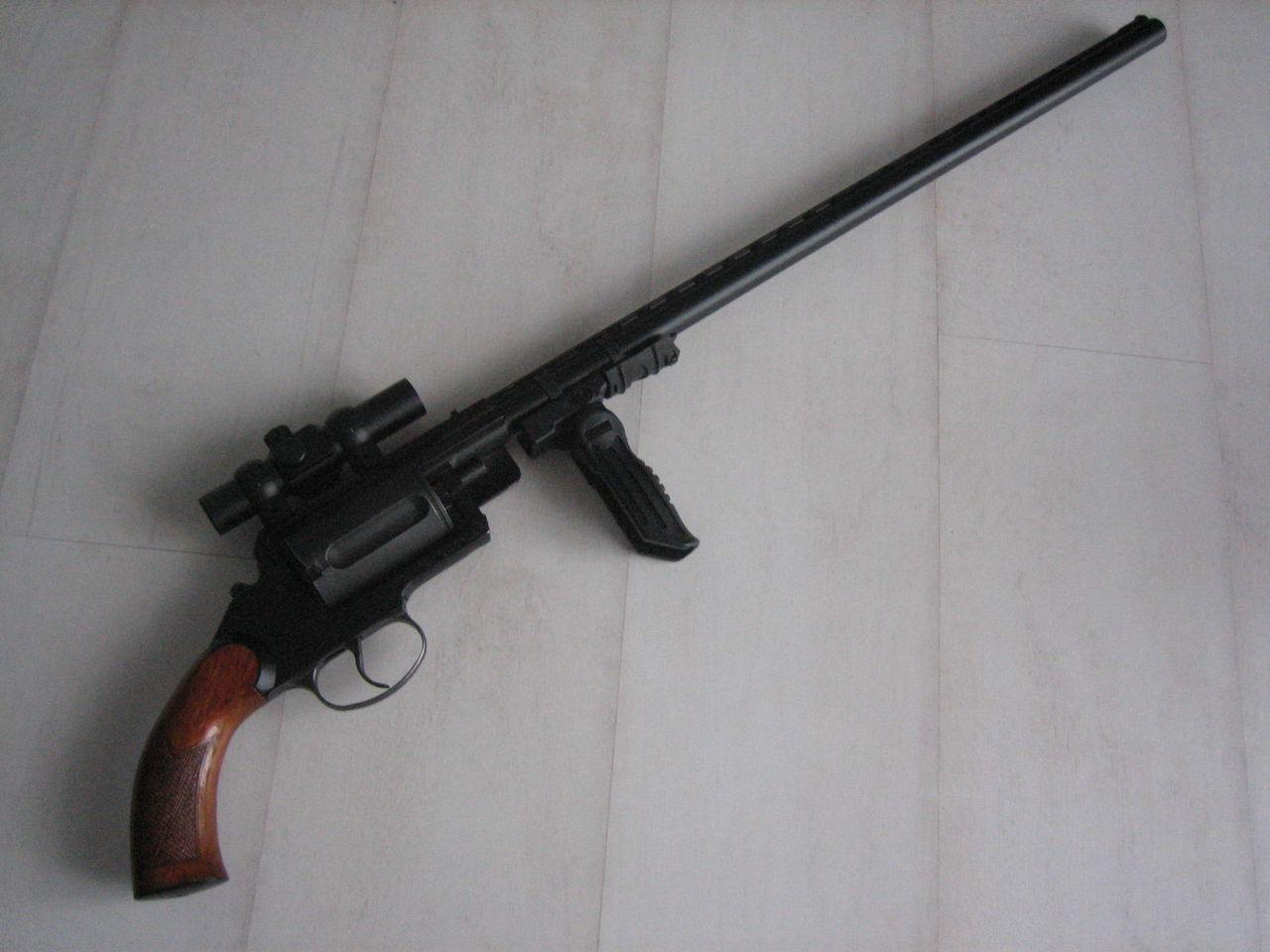 МЦ-255 с длинным стволом