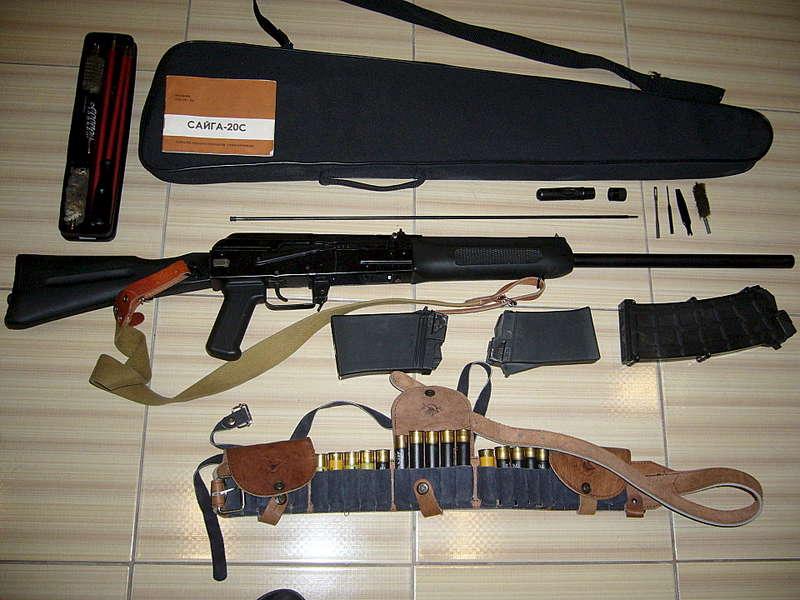 Полный комплект Сайга-20