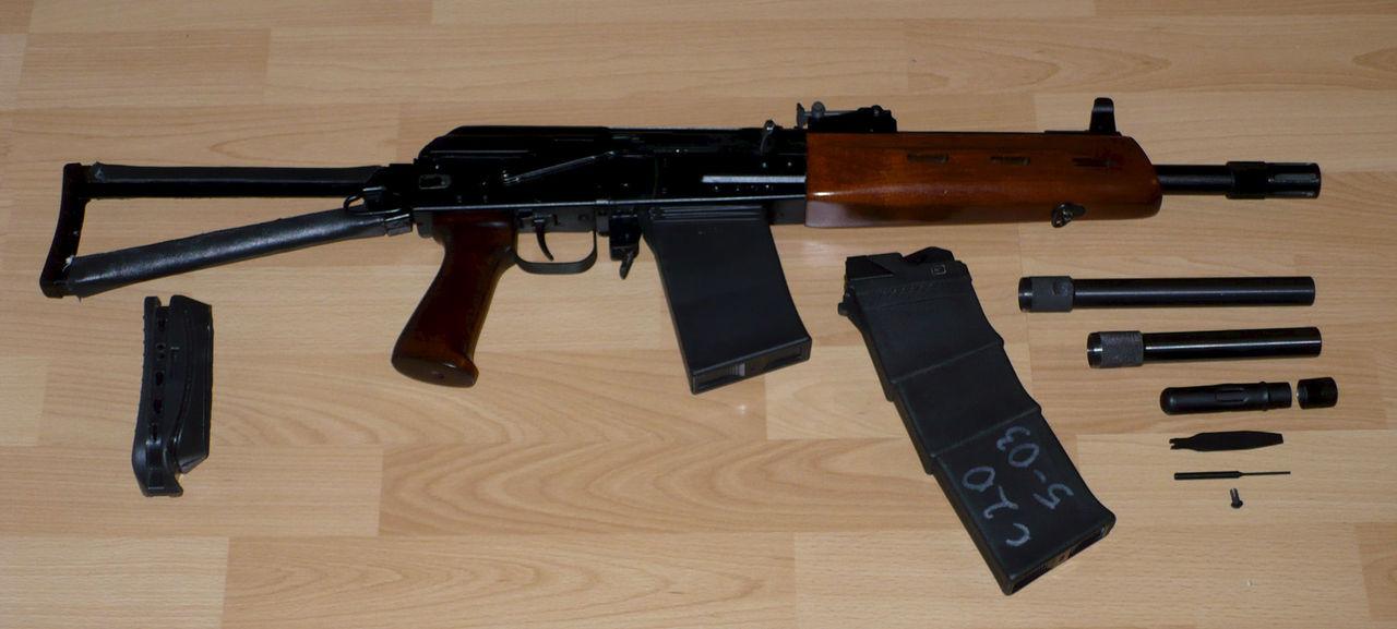 Сайга-20 с запасными деталями