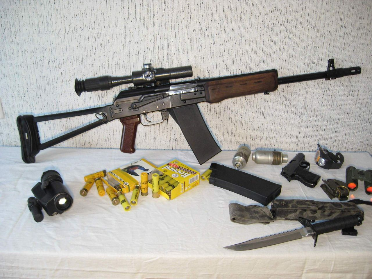 Тюнингованный Сайга-20