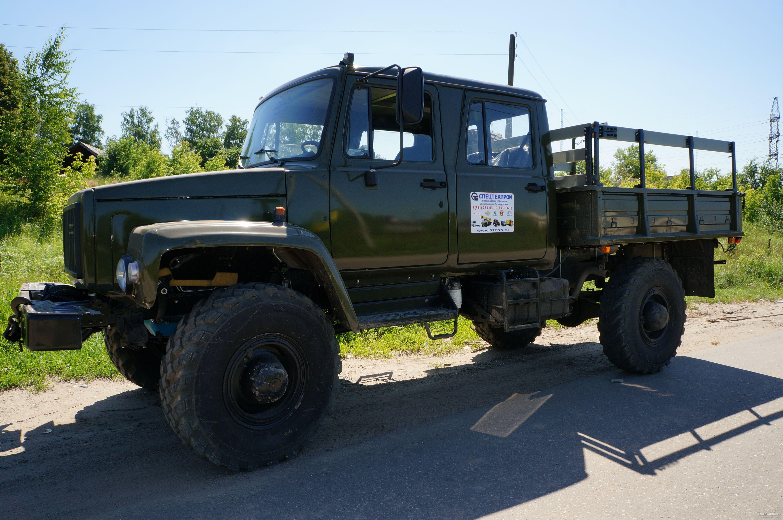 Бортовой Газ-33081