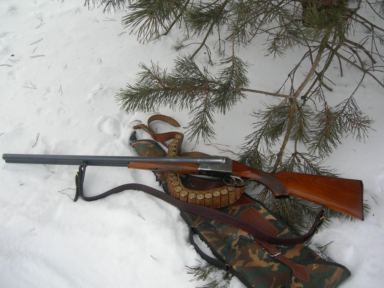 ИЖ-54 с чехлом