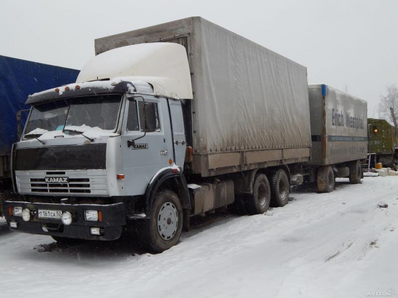 КамАЗ-53212 автопоезд