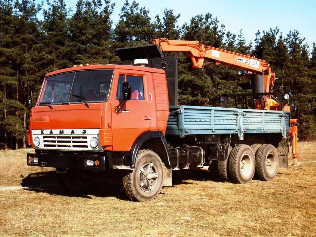КамАЗ-53212 с манипулятором