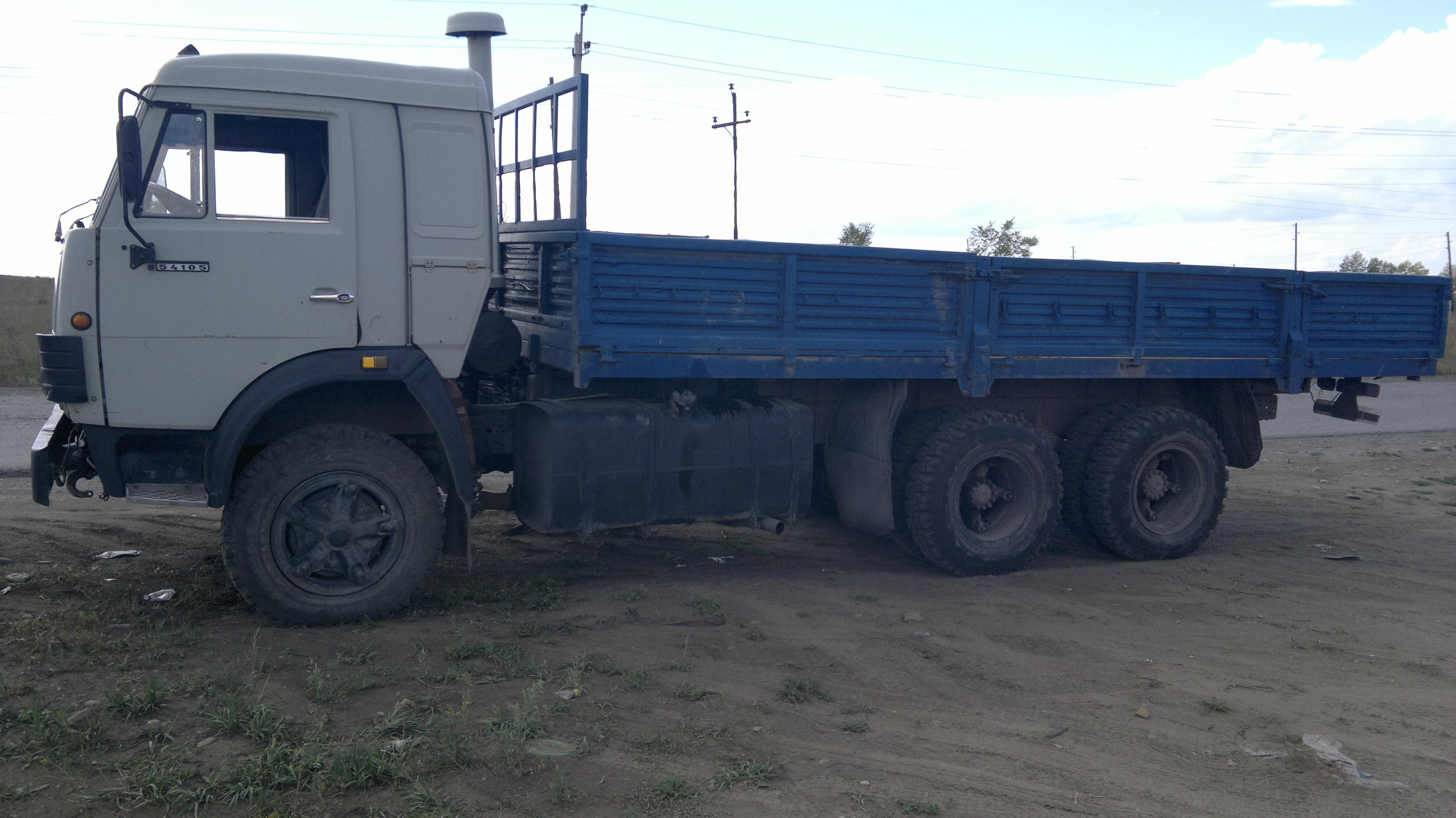 КамАЗ-43212 с открытым кузовом