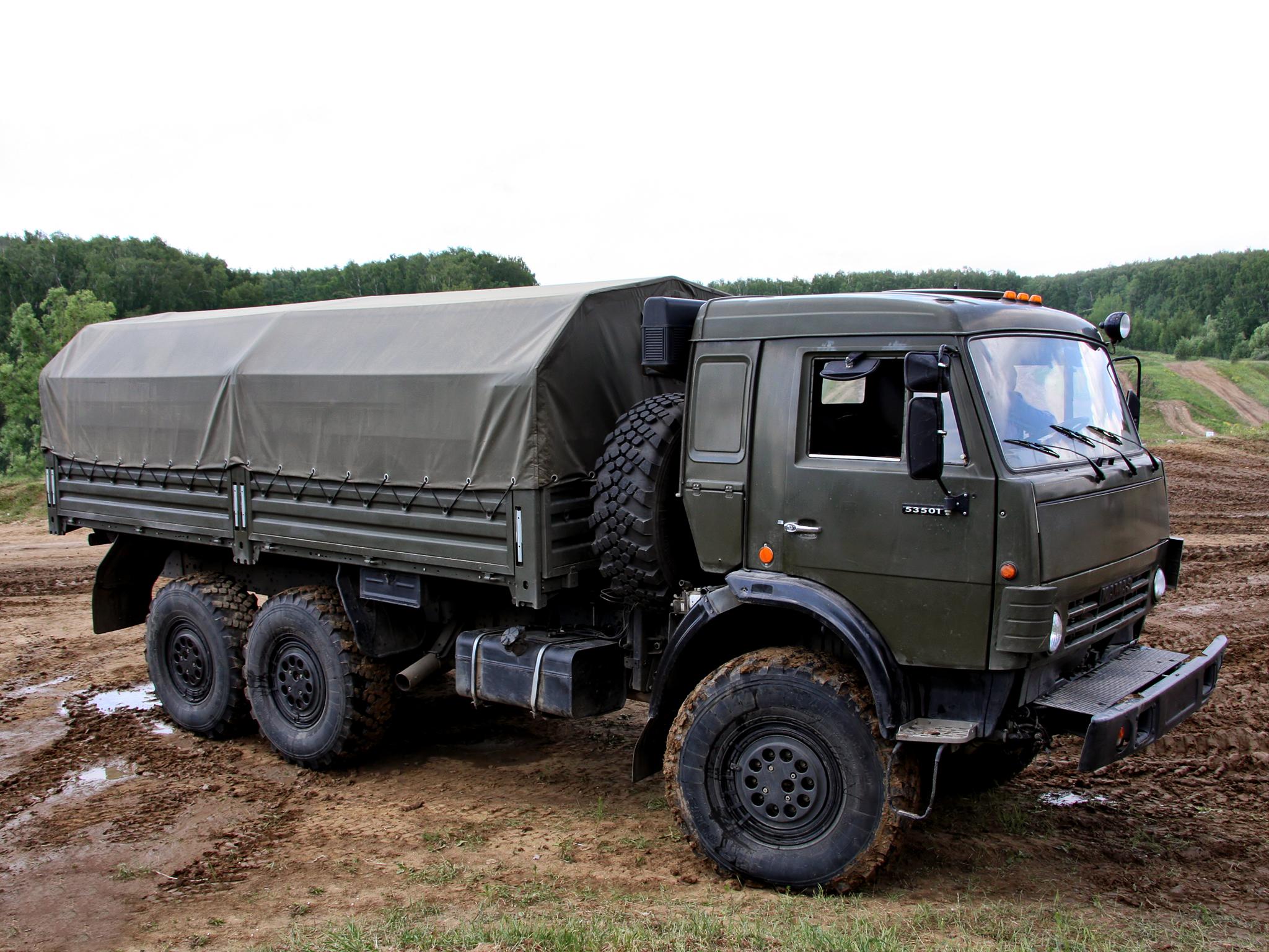 КамАЗ-53501 на бездорожье
