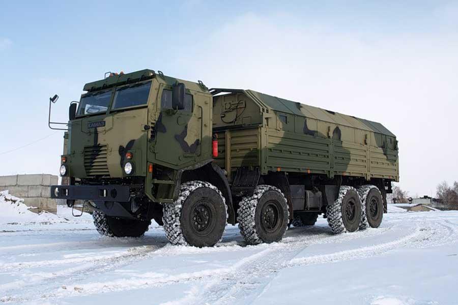 КамАЗ-53501 с жилым модулем