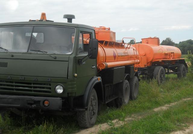 Камаз-5320 для перевозки бензина