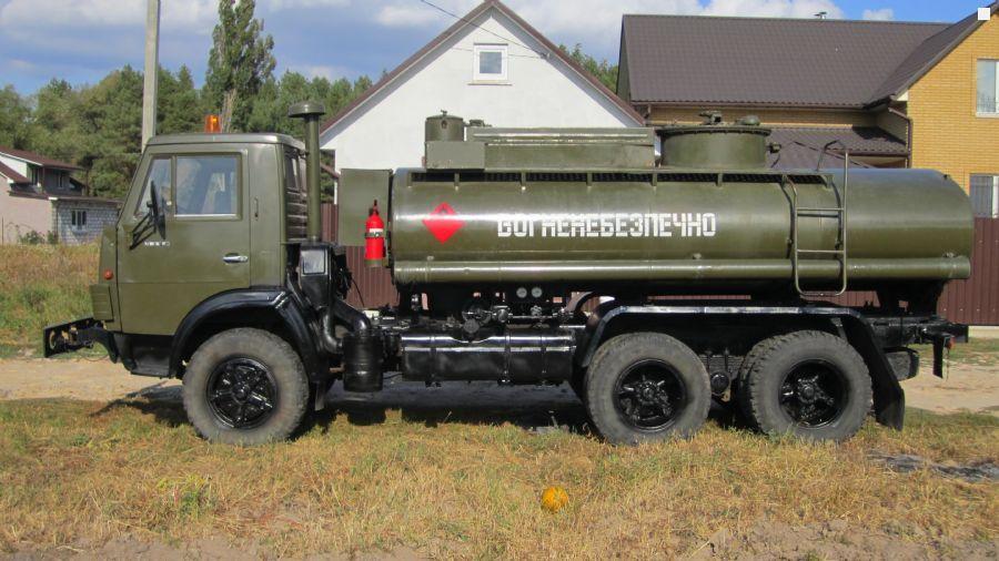 Камаз-5320 с цистерной