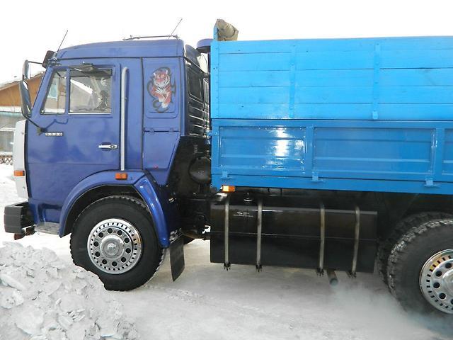 Камаз-5320 с новыми колёсными дисками