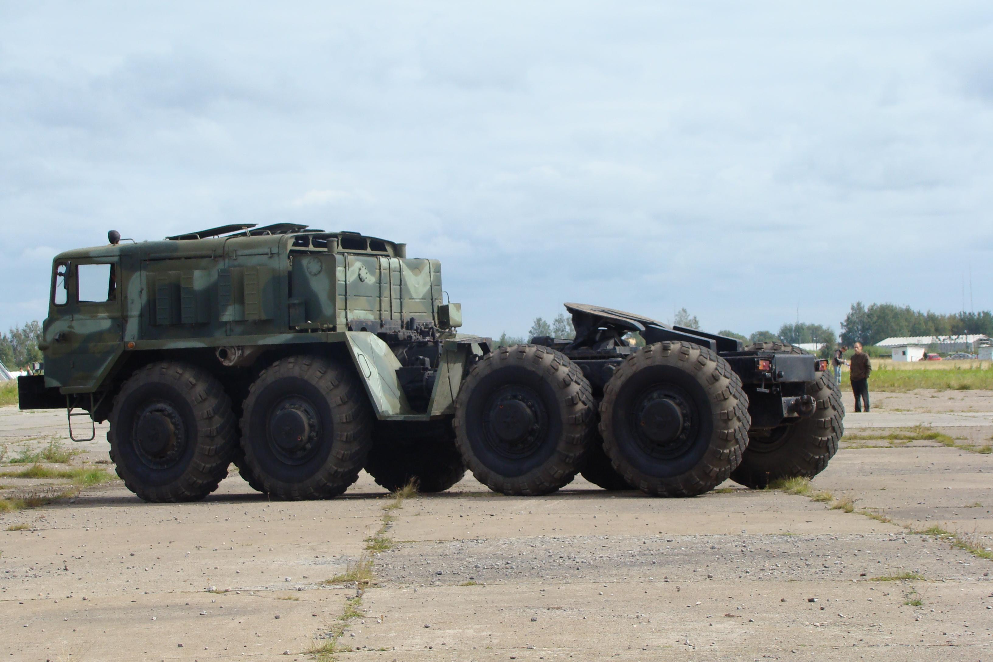 МАЗ-537 на полигоне