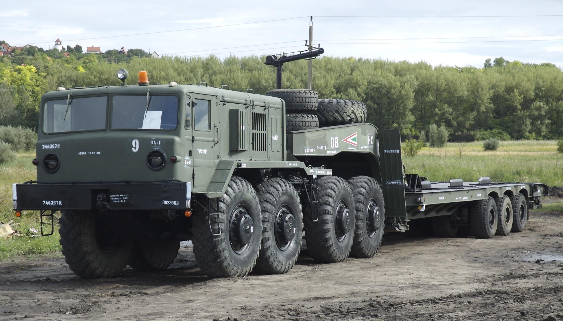МАЗ-537 с полуприцепом