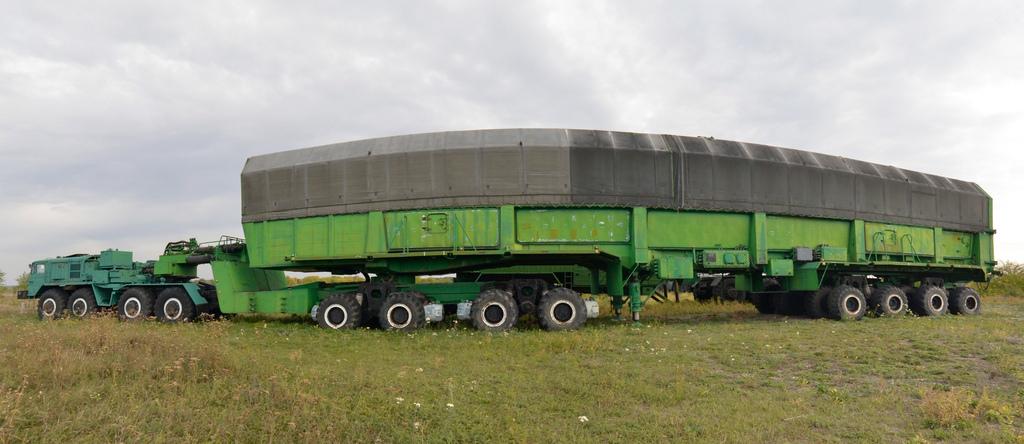 МАЗ-537 с ракетой РС-20В