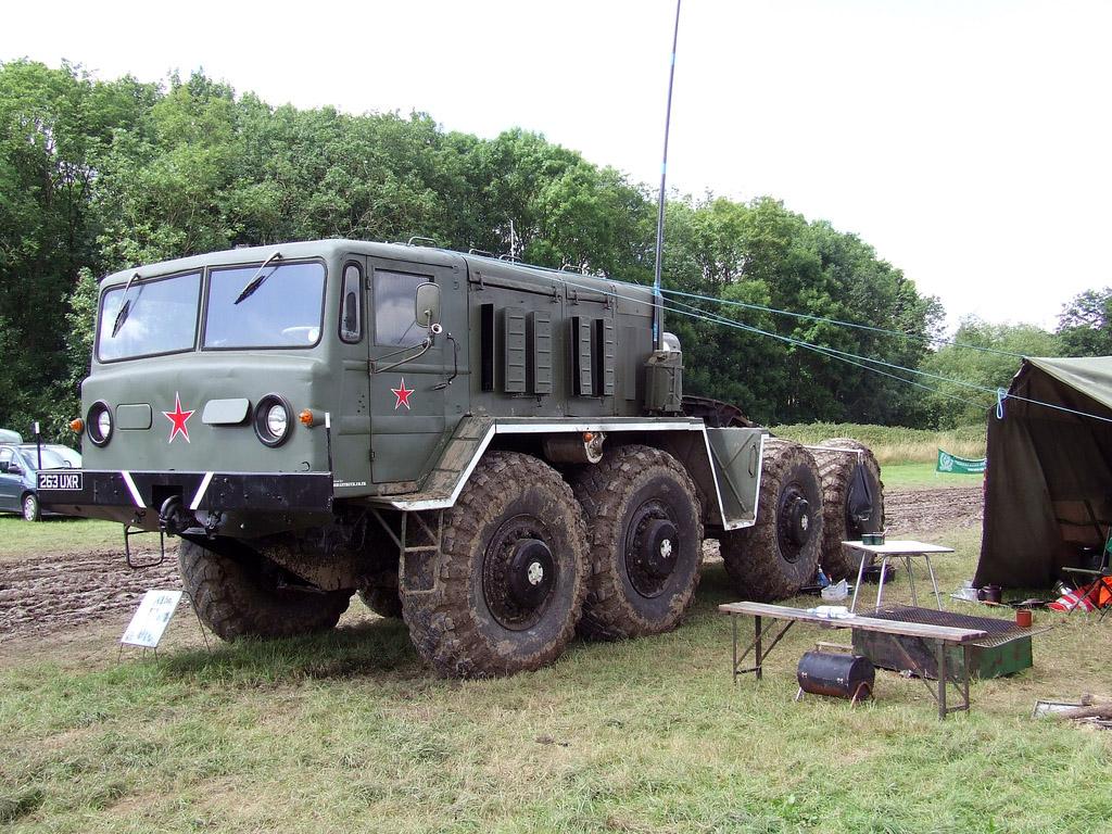 МАЗ-537 в полевых условиях