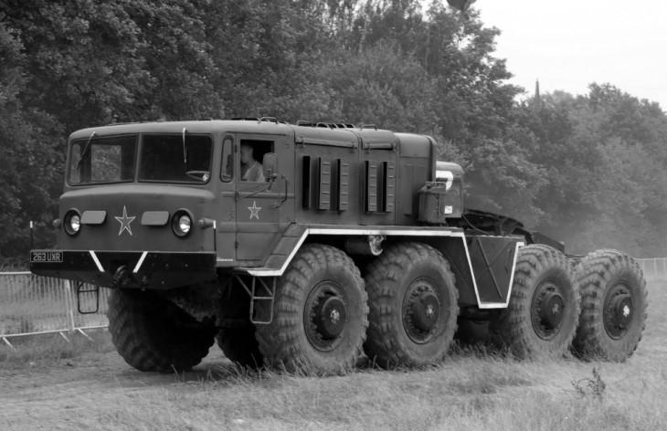 МАЗ-537 в хорошем состоянии
