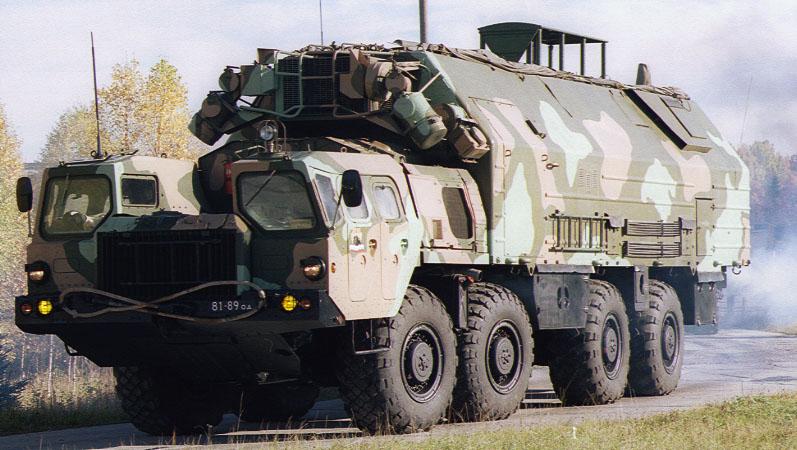 МАЗ-543 с Тополь-М