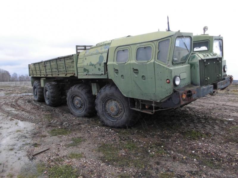 МАЗ-543 с кузовом