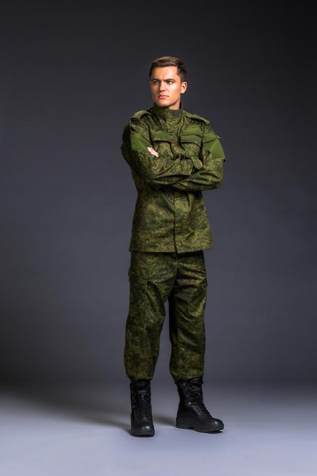 Новейший образец военной формы