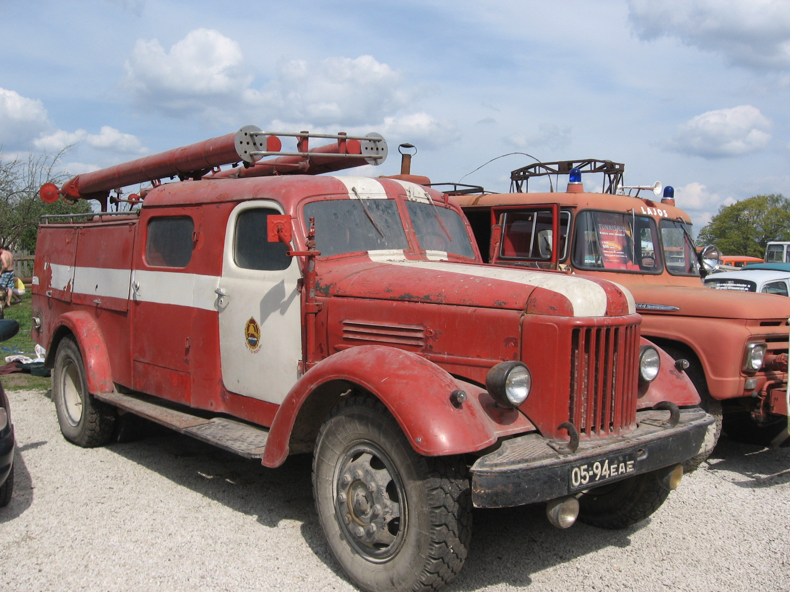 Пожарная машины ЗиЛ-164