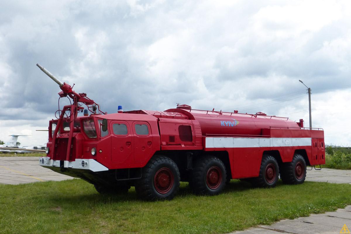 Пожарный МАЗ-537