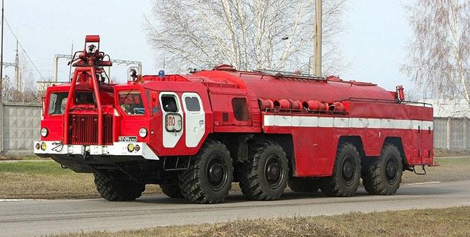 Пожарный МАЗ-543