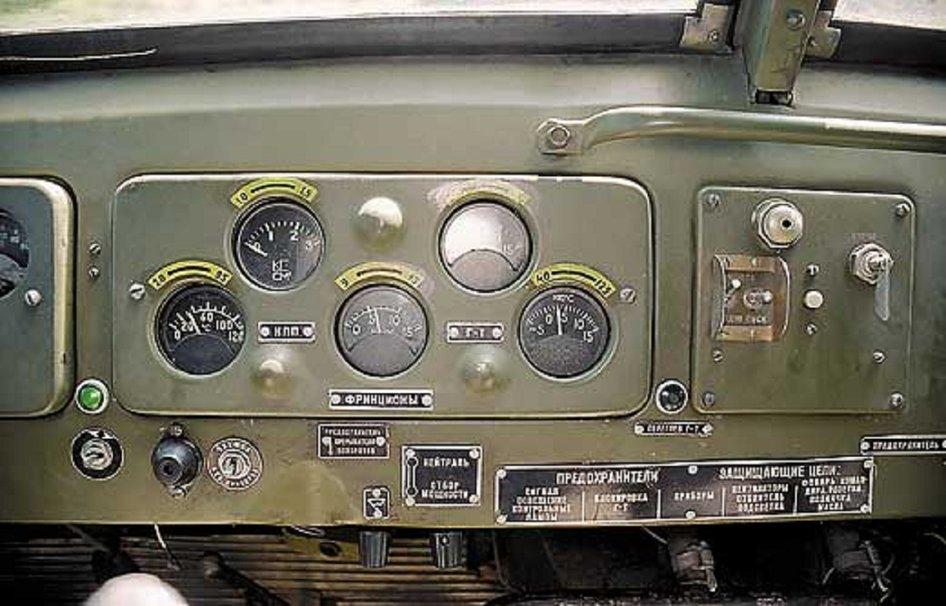 Приборная панель МАЗ-537