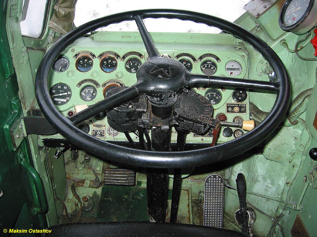 Приборная панель МАЗ-543