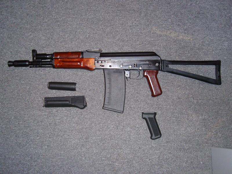 Сайга 410 в стиле АК74М