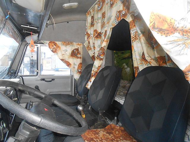 Салон КамАЗ-53212