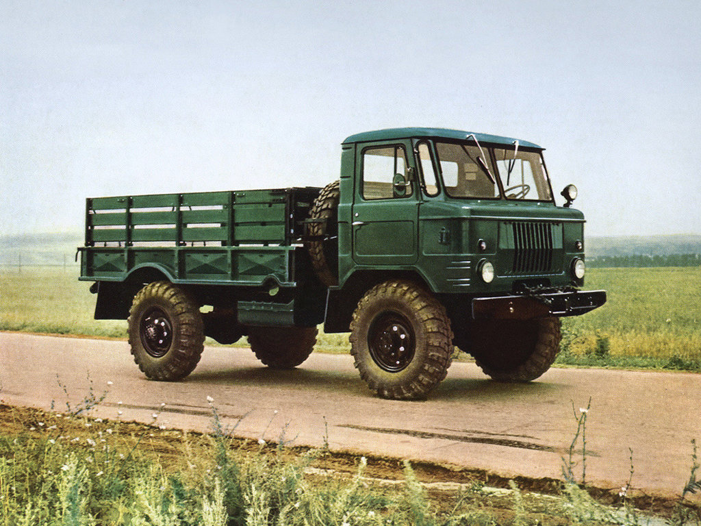 Стандартный Газ-66