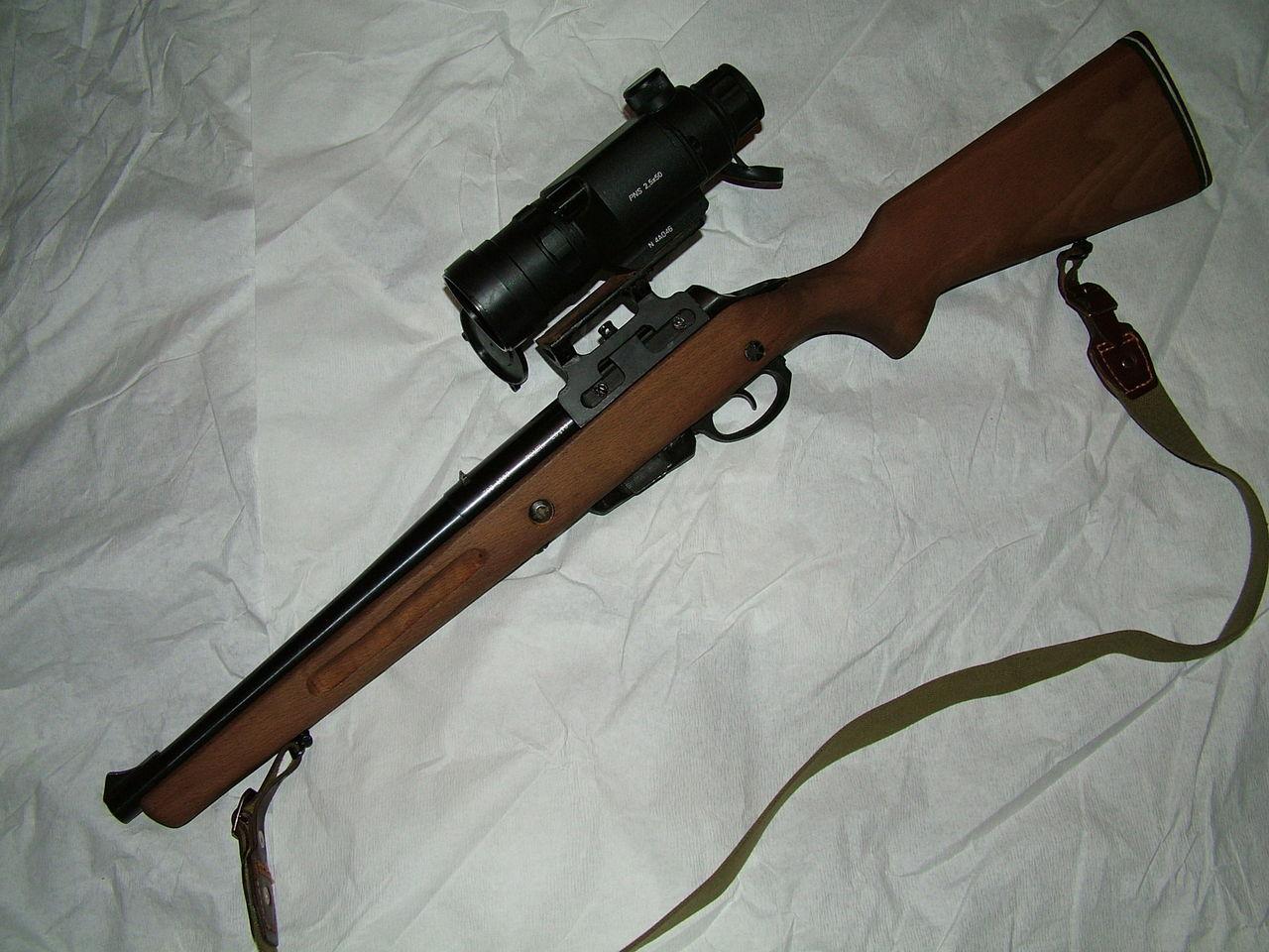Тоз-106 с оптикой