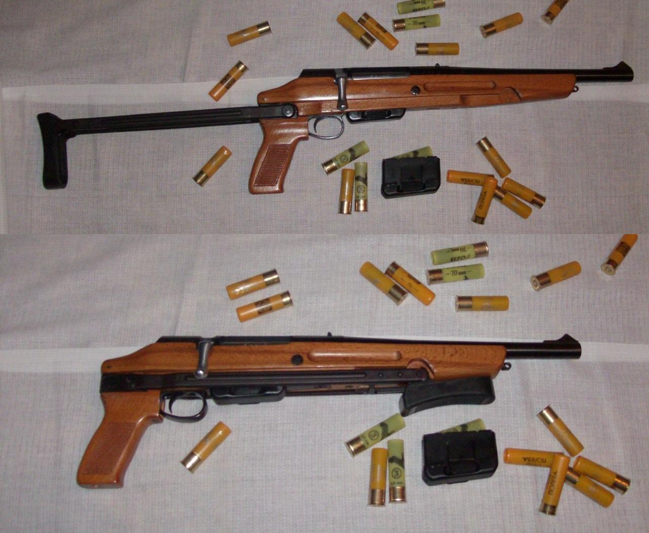 Тоз-106 с патронами