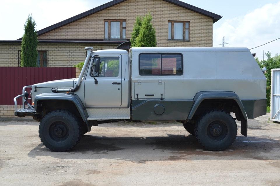 Тюнингованный Газ-33081