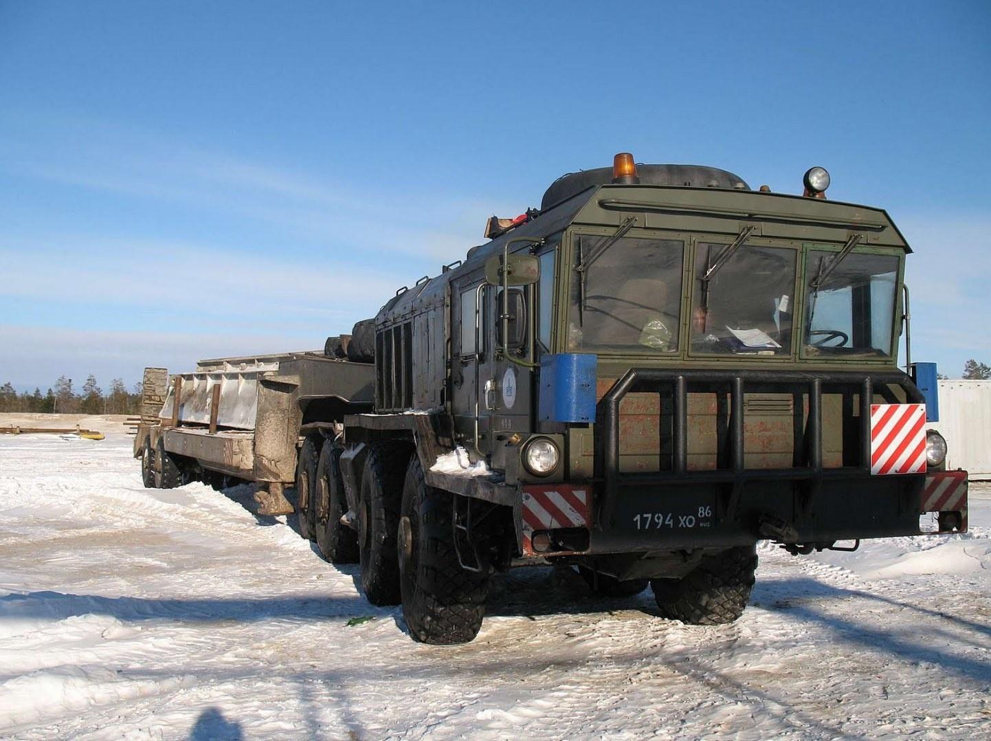 Тюнингованный МАЗ-537