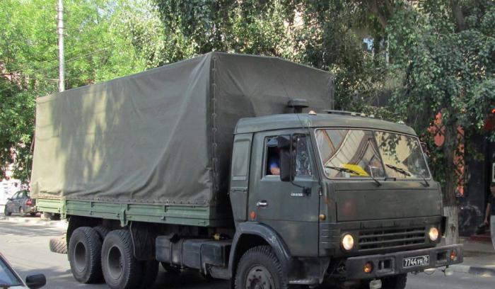Военный КамАЗ-53212