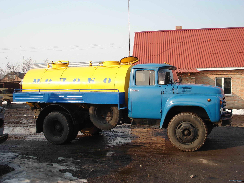 ЗиЛ-130 с цистерной