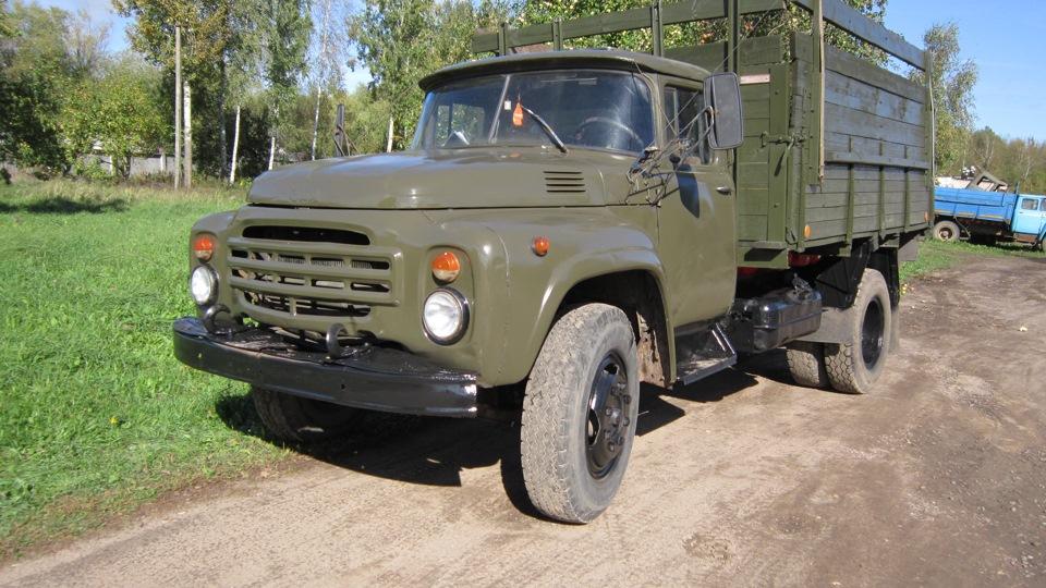 ЗиЛ-130 с высоким кузовом