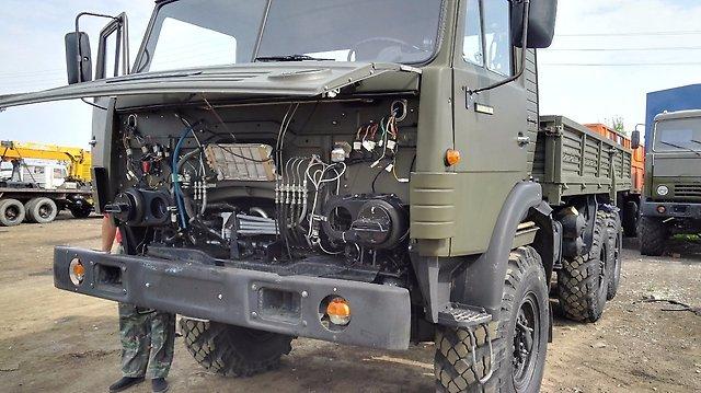 Электроника КамАЗ-4310