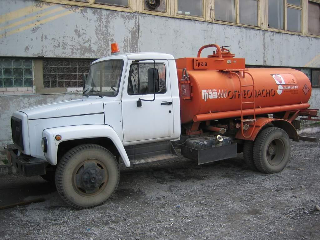 ГАЗ-3307 с цистерной