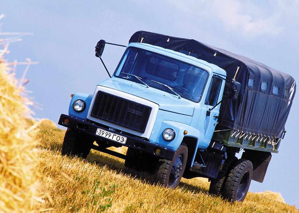 ГАЗ-3307 с крытым кузовом