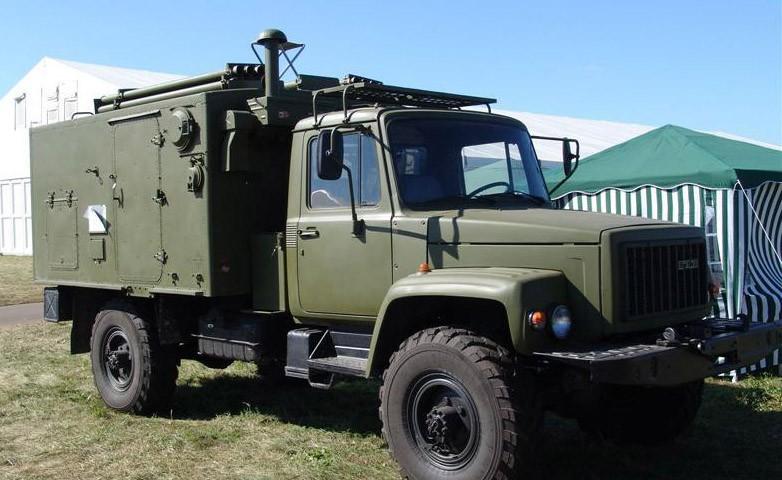 ГАЗ-3308 с жилым модулем